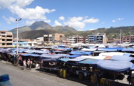 Täglicher Markt in Otavalo