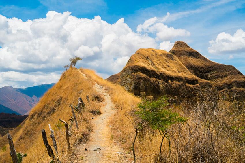 Landschaft bei Vilcabamba, Ecuador