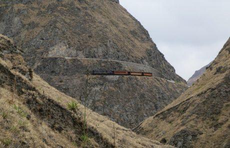 Zugfahrt an der Teufelsnase vorbei, Ecuador