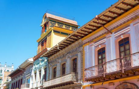 Kolonialstil in Cuenca