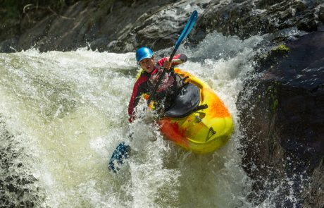 River-Rafting in Baños, Ecuador