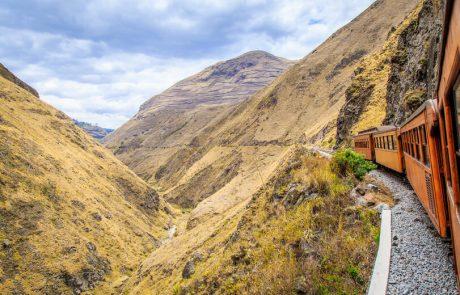 Zugfahrt Riobamba-Ingapirca, Ecuador