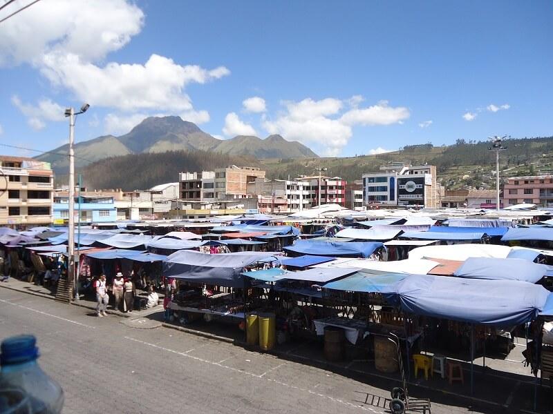 Market in Otavalo, Ecuador
