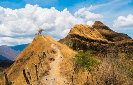 Landscape near Vilcabamba, Ecuador