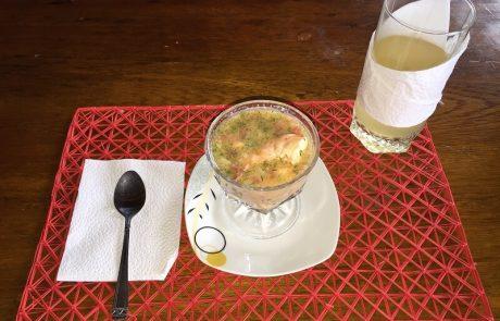 Tasty ceviche at hacienda-eldorado.com
