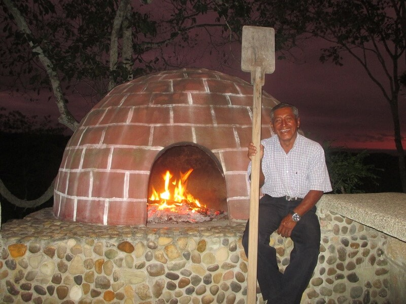 Pizza oven hacienda-eldorado.com Ecuador