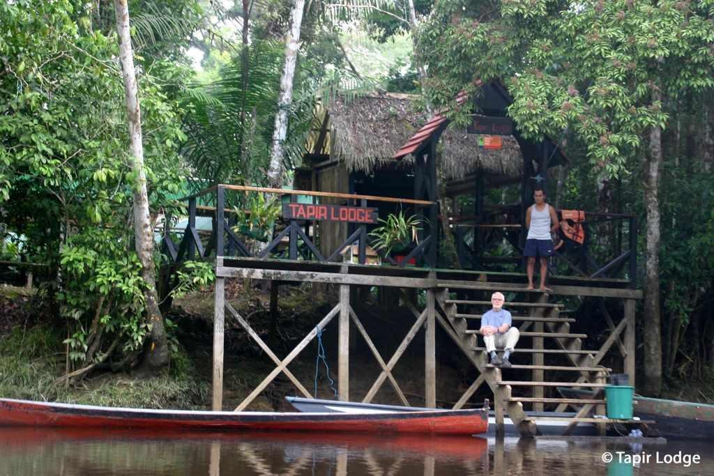 Tapir Lodge en Cuyabeno, Ecuador