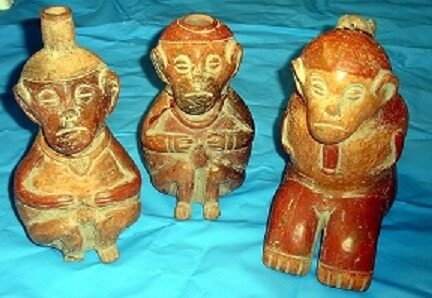 Figures of the Valdivia civilization, Ecuador