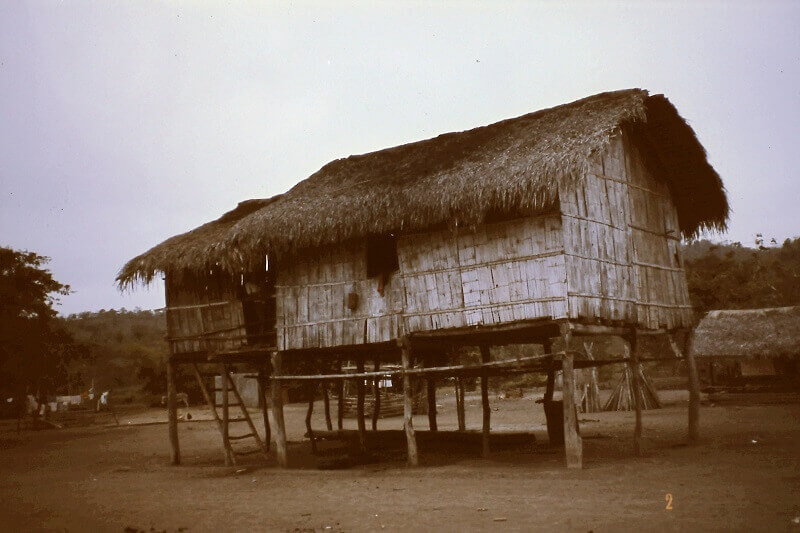 Cabin around 1980.., Ecuador