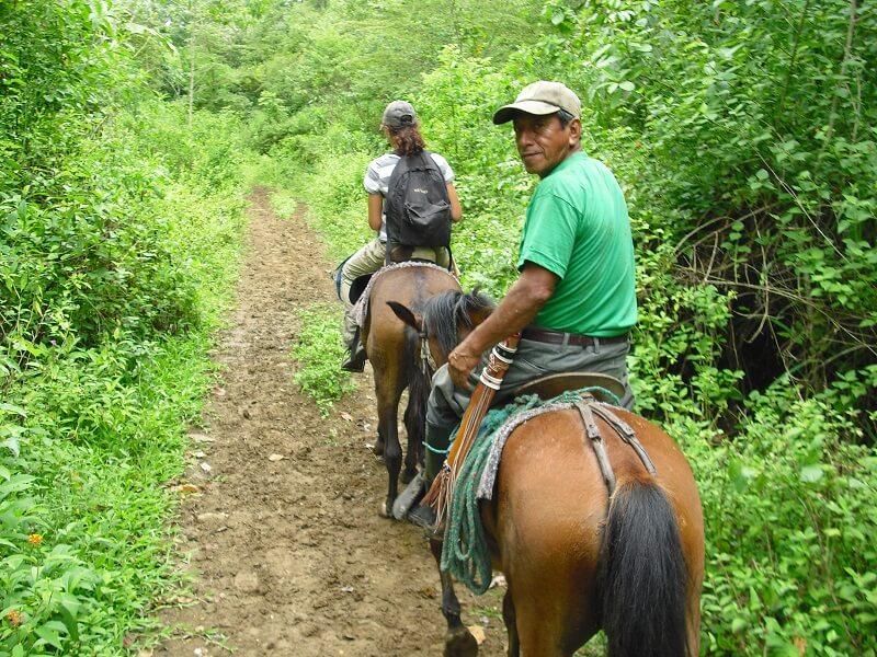 Reitausflug Hacienda El Dorado, Ecuador